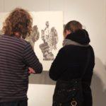"""Obraz do wpisu: Kaliskie Biennale Rysunku i Malarstwa """"Próba 1""""  #7"""