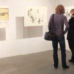 """Obraz do wpisu: Kaliskie Biennale Rysunku i Malarstwa """"Próba 1""""  #8"""