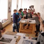 Obraz do wpisu: Warsztaty: Monotypia- między rysunkiem a grafiką.  #18