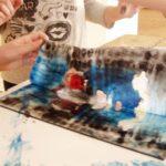 Obraz do wpisu: Warsztaty: Monotypia- między rysunkiem a grafiką.  #5