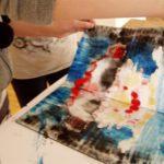 Obraz do wpisu: Warsztaty: Monotypia- między rysunkiem a grafiką.  #6