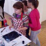 Obraz do wpisu: Warsztaty: Monotypia- między rysunkiem a grafiką.  #9