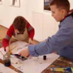 Obraz do wpisu: Warsztaty: Monotypia- między rysunkiem a grafiką.  #1