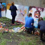 """Obraz do wpisu: """"Street art – sztuka miasta. Edukacja międzypokoleniowa""""  #4"""