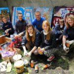 """Obraz do wpisu: """"Street art – sztuka miasta. Edukacja międzypokoleniowa""""  #12"""