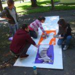 Obraz do wpisu: X muza - warsztaty street artu  #6