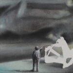Łukasz Huculak, Eksperyment, 30x40 cm, olej, 2013
