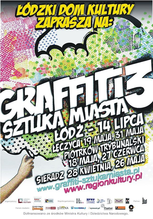 "Obraz do wpisu: Warsztaty graffiti i streetartu ""Graffiti sztuka miasta""  #2"