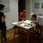 Obraz do wpisu: Warsztaty plastyczne - malarstwo Jolanty Betnerowicz  #5