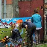 """Obraz do wpisu: """"Street art – sztuka miasta. Edukacja międzypokoleniowa""""  #6"""
