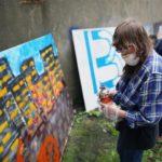 """Obraz do wpisu: """"Street art – sztuka miasta. Edukacja międzypokoleniowa""""  #9"""