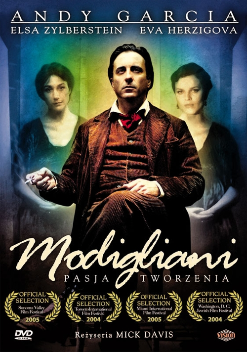 Obraz do wpisu: KINODA - Modigliani, pasja tworzenia  #