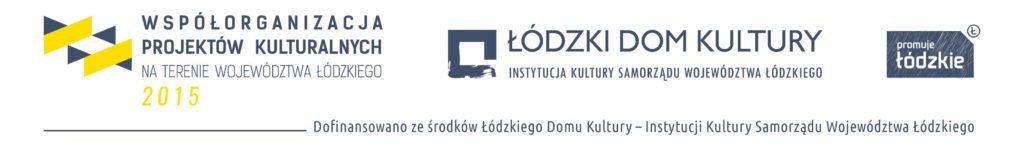 Loga: Współorganizacja Projektów Kulturalnych, Łódzki Dom Kultury, Promuje Łódzkie