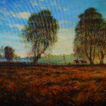 """Włodzimierz Bobryk, """"Post tenebras Lux. Summer"""", 80 cm x 110 cm, olej na płótnie"""