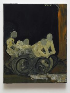 "Piotr Kotlicki, ""Bike stories"", 41 x 33 cm, 2017-2020 r."