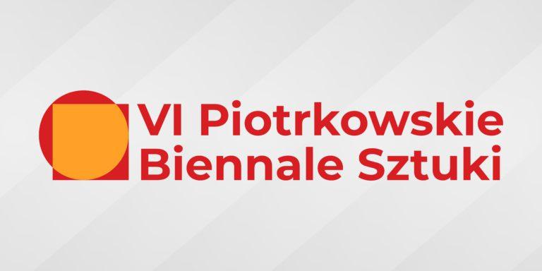 Logo VI Piotrkowskiego Biennale Sztuki